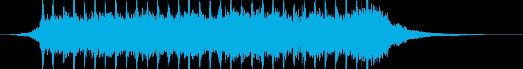 企業VP系31、爽やかギター4つ打ち9cの再生済みの波形