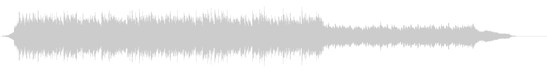 企業VP映像、136オーケストラ、爽快cの未再生の波形