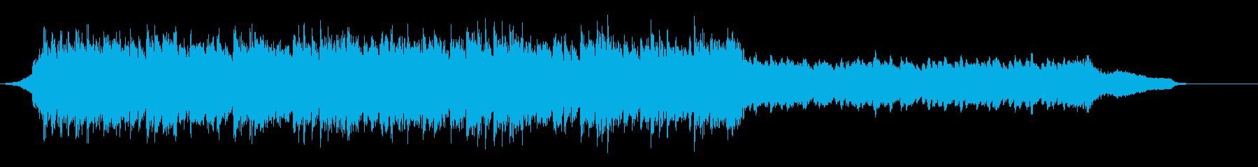 企業VP映像、136オーケストラ、爽快cの再生済みの波形