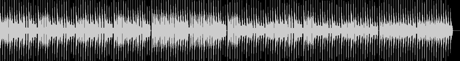線路は続くよどこまでもファミコン8bitの未再生の波形