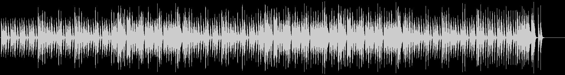 キラキラで可愛いポップなBGMの未再生の波形