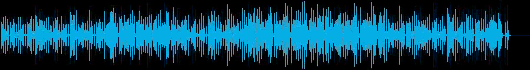 キラキラで可愛いポップなBGMの再生済みの波形