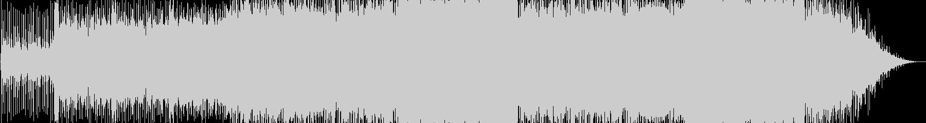 クラシカルとエレクトロの融合の未再生の波形