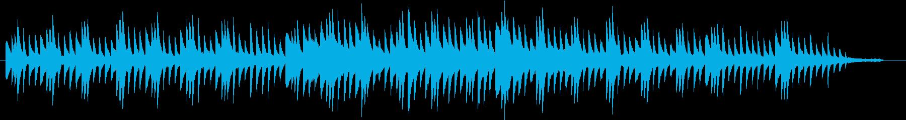 原風景のイメージのピアノ02の再生済みの波形