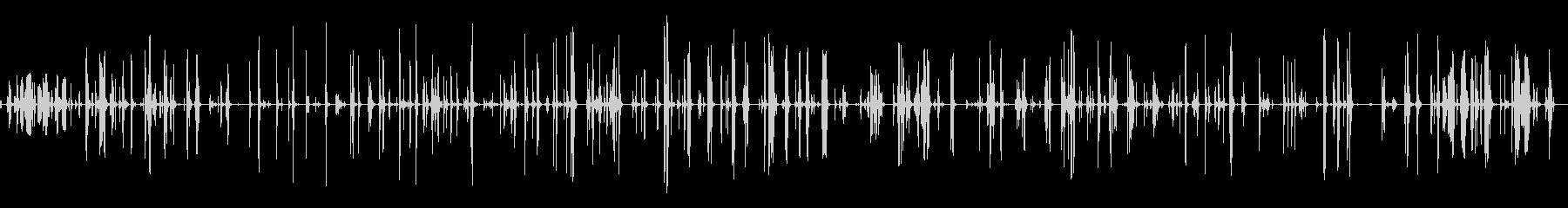 ガラガラ、パッティングアウェイディ...の未再生の波形