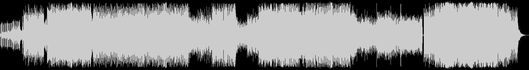 90年代風のエレクトロの未再生の波形