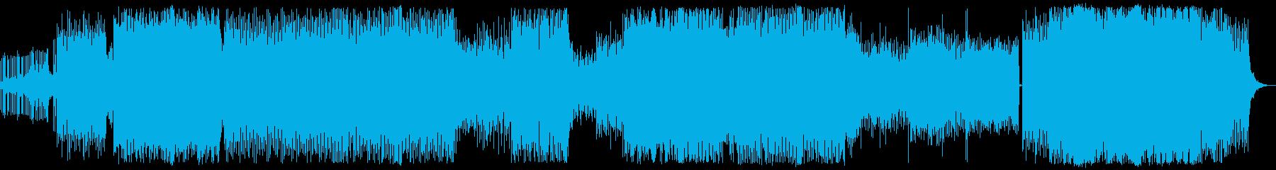 90年代風のエレクトロの再生済みの波形