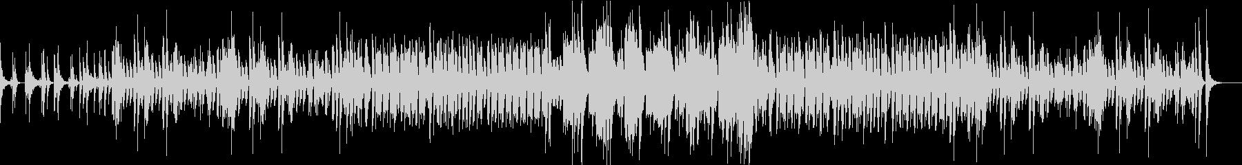 コミカルで幻想的な和風BGMの未再生の波形