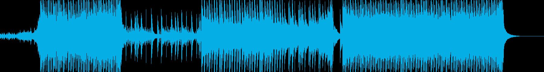 ピアノのフレーズが印象的な爽やかな曲の再生済みの波形