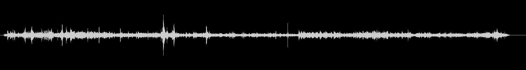 ショップ-小さい-声の未再生の波形