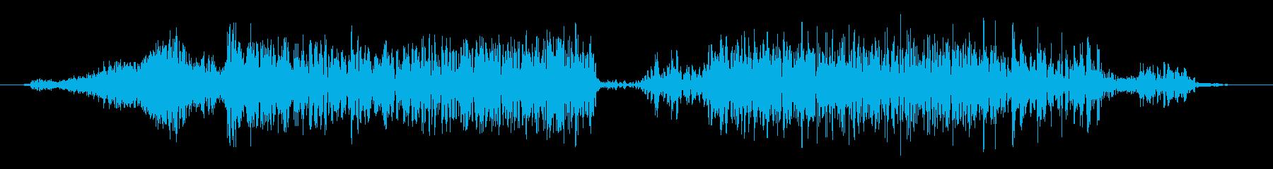 カエル モンスター ゲーム スキルの再生済みの波形