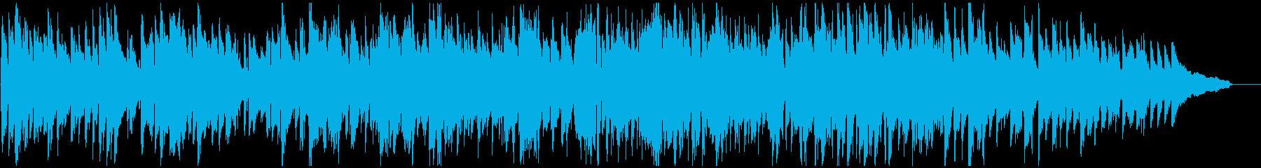 お洒落なジャズ・ワルツ、優雅で優しい音色の再生済みの波形
