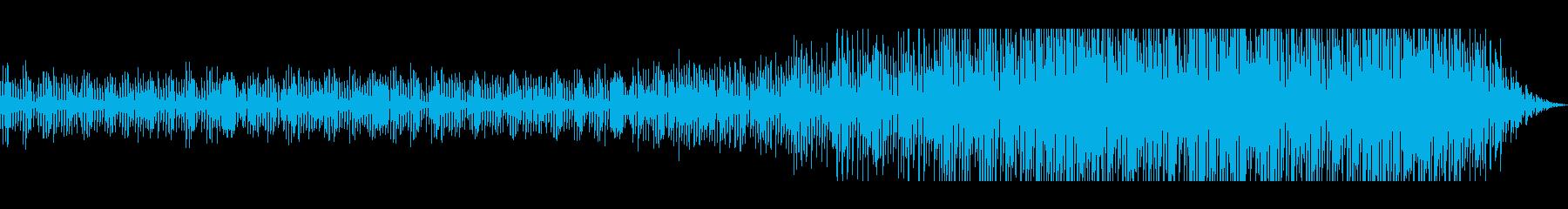 少し不思議なピアノから始まるマーチの再生済みの波形