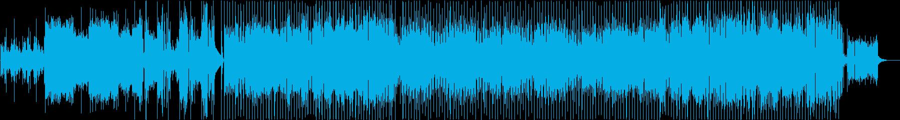 ノリの良いのポップスの再生済みの波形