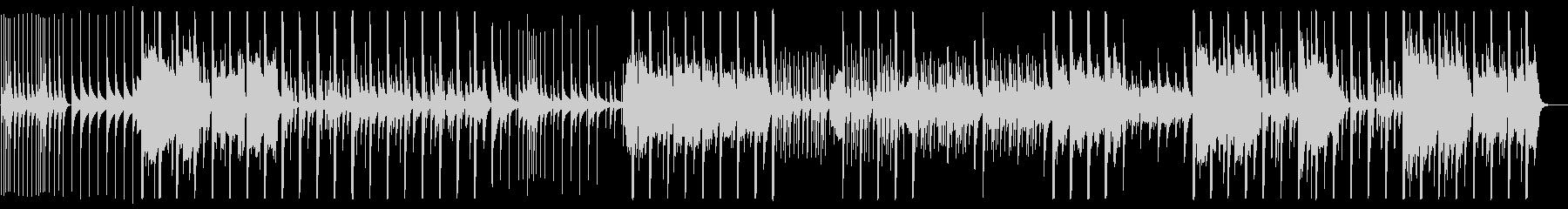 鉄琴やストリングスによる切ない楽曲の未再生の波形