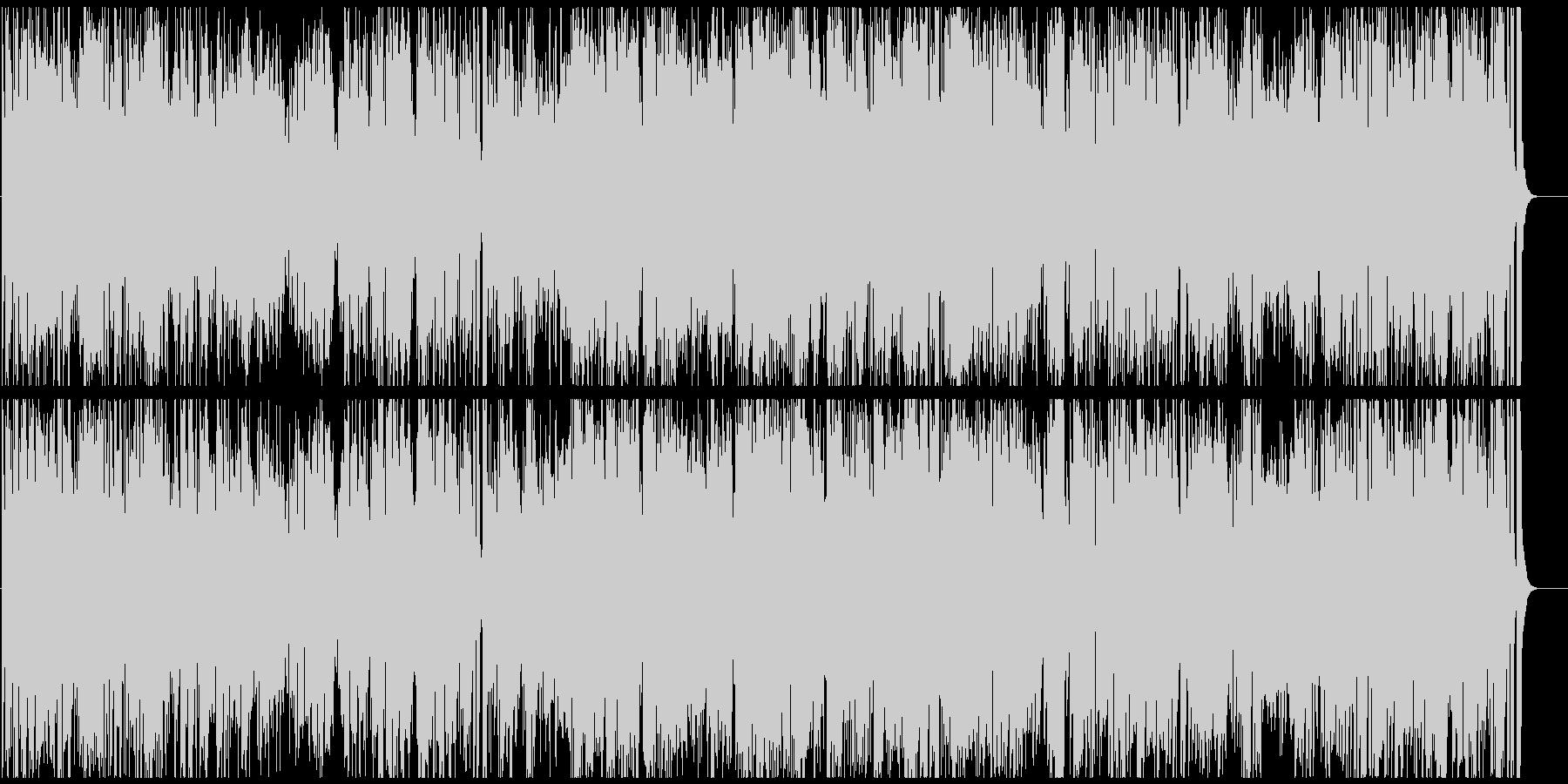 トロピカルなラテンジャズ サックス生演奏の未再生の波形