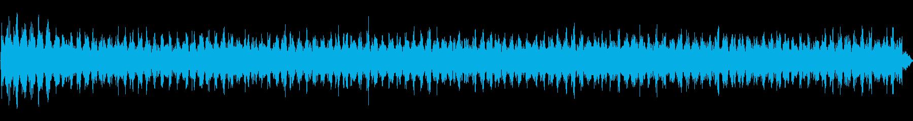 宇宙または無線の静的干渉、エイリア...の再生済みの波形