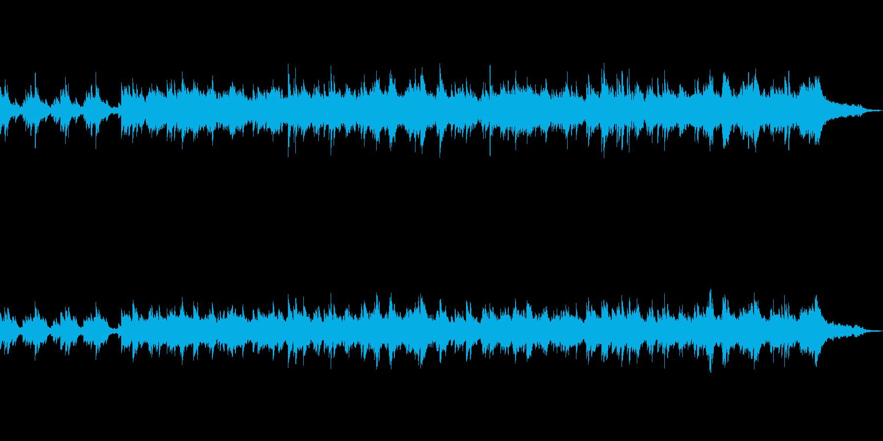 爽やかなイメージのピアノ・インストの再生済みの波形