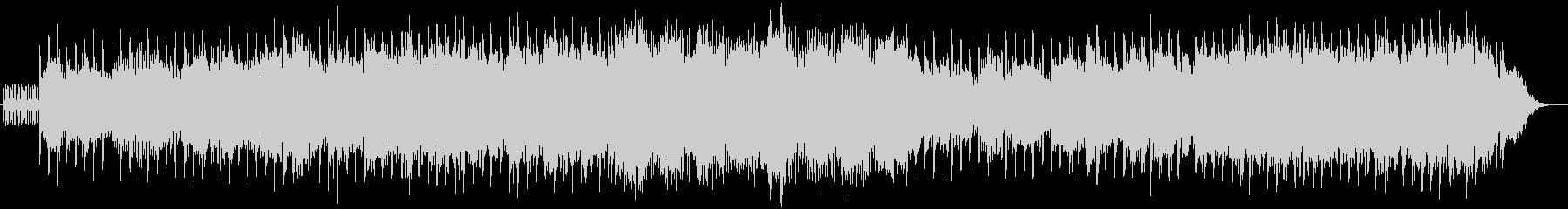 優しく包み込むようなシンセ系ボイス曲の未再生の波形