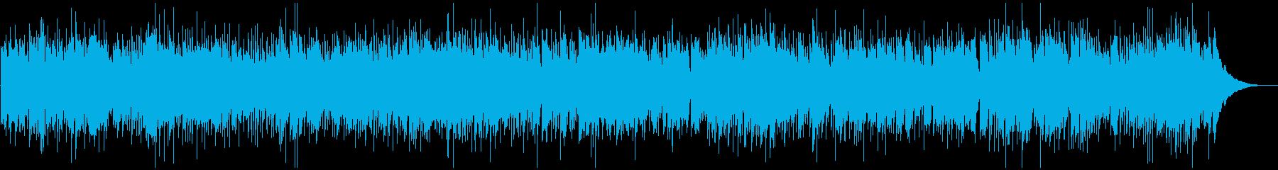 ゆったりマンドリンでアメリカンフォークの再生済みの波形