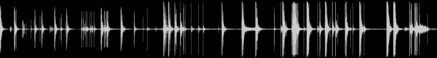爆発花火ビッグバンの未再生の波形