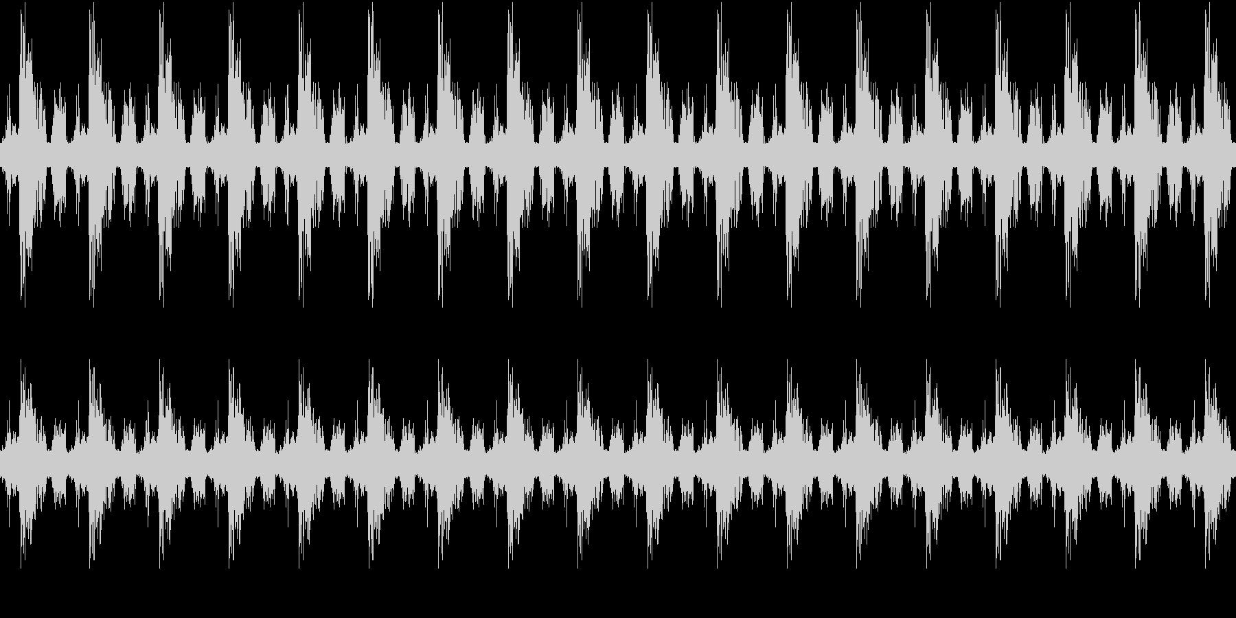 小鳥、雀のさえずり(環境音・自然音)の未再生の波形