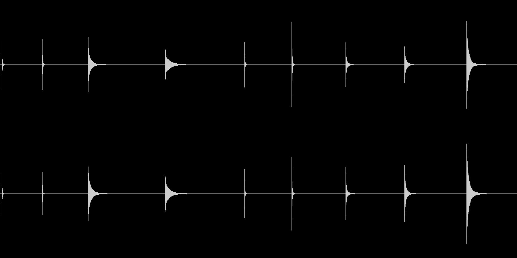 ガラス、インパクト、ピン、高、9バ...の未再生の波形