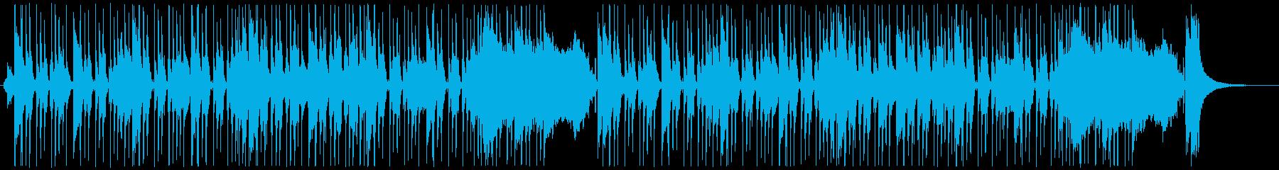 [生ギター]日常のんびりブルースの再生済みの波形