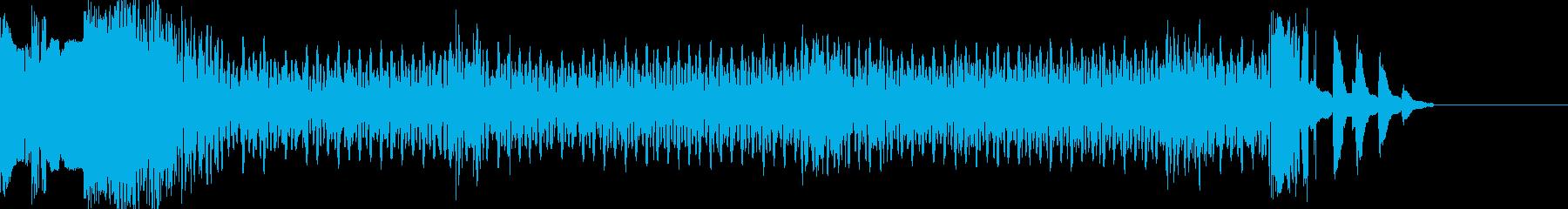 スピーディGの再生済みの波形