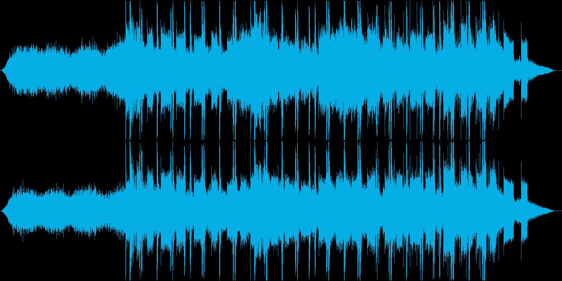 海底をイメージした不気味だけど壮大な曲の再生済みの波形