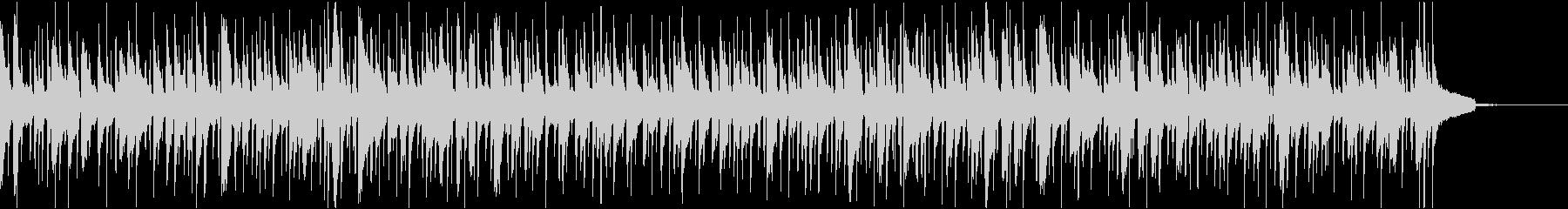 ゆったりとしたボサノヴァ_フルートなしの未再生の波形