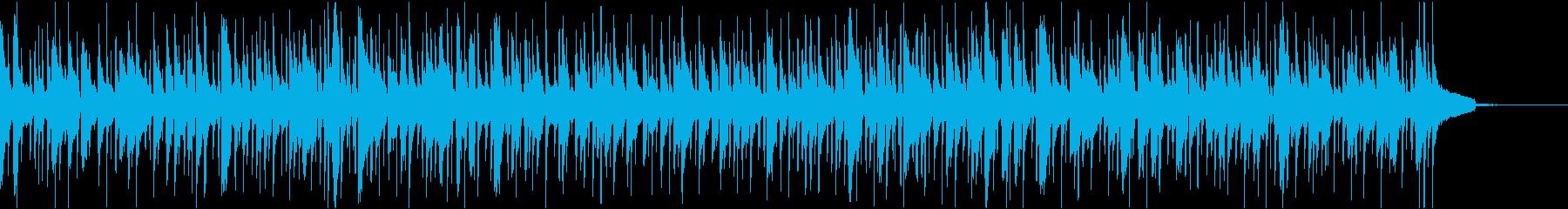 ゆったりとしたボサノヴァ_フルートなしの再生済みの波形