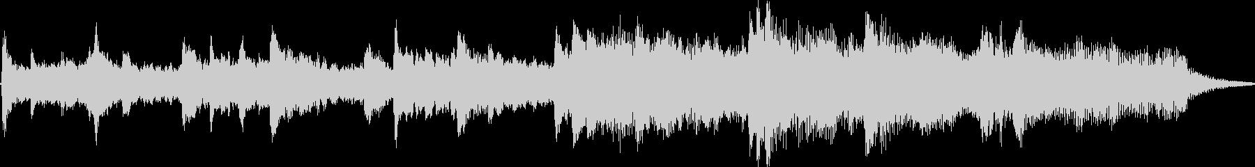 BGM whose transparent piano tone is impressive's unreproduced waveform