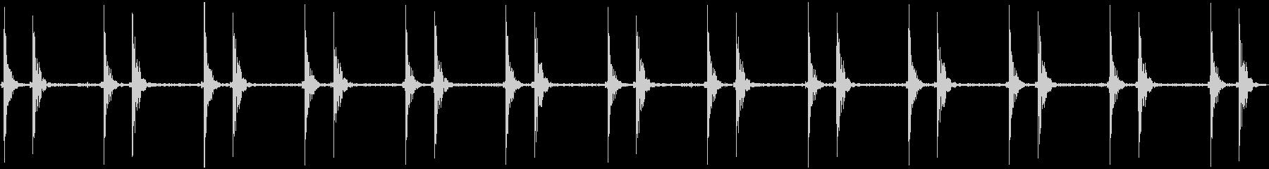 通常のハートビート;ヴィンテージ録...の未再生の波形