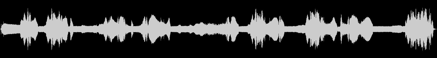オンボードのメルクール-エンジン、...の未再生の波形