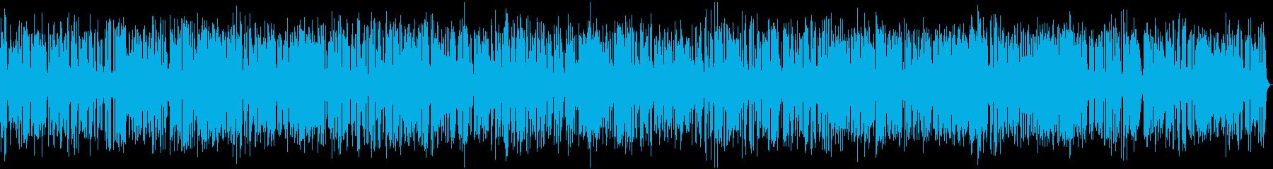 クールなおしゃれジャズピアノトリオ17分の再生済みの波形