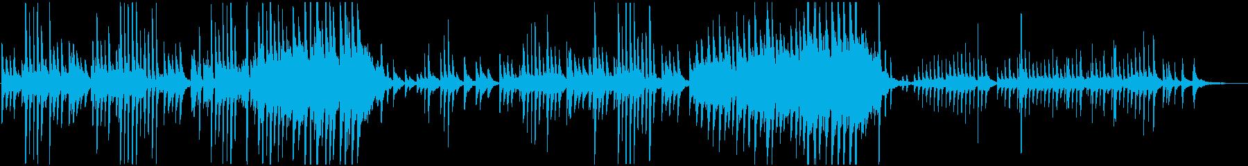 ピアノソロ・日常・ルーティン・優しいの再生済みの波形