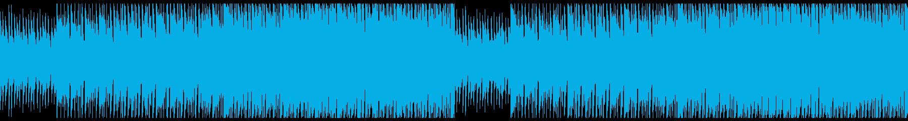 おしゃれなEDM2分バージョンの再生済みの波形