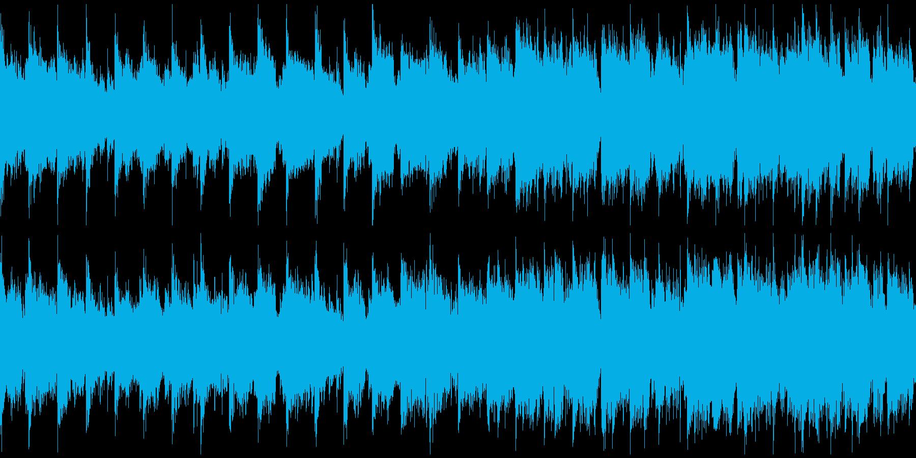 和風、幻想的な昔話、おとぎ話 ※ループ版の再生済みの波形