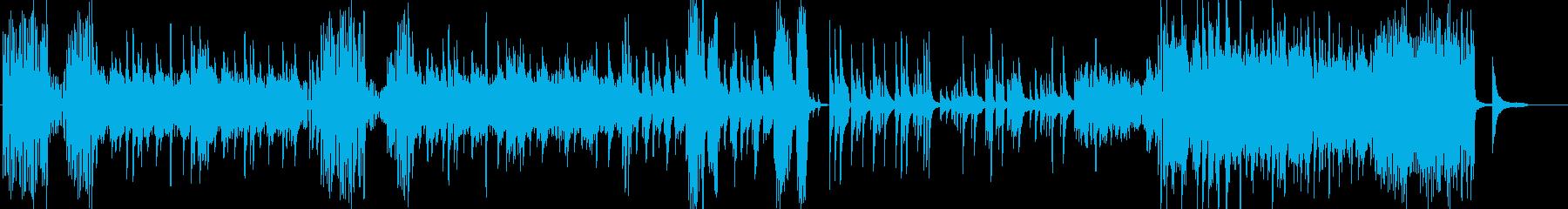激しく切ないピアノソロ曲の再生済みの波形