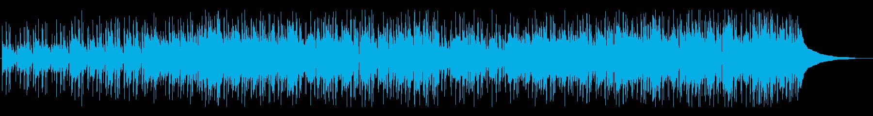口笛が特徴的な明るくポップなBGMの再生済みの波形