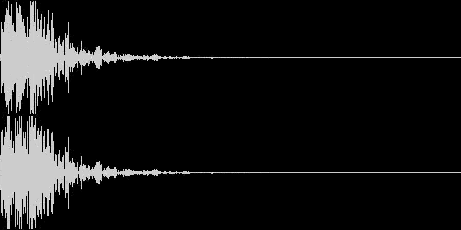 [[デレレン↑]] 和太鼓、箏、三味線の未再生の波形