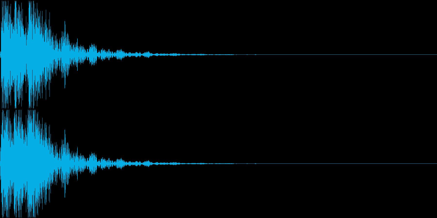[[デレレン↑]] 和太鼓、箏、三味線の再生済みの波形