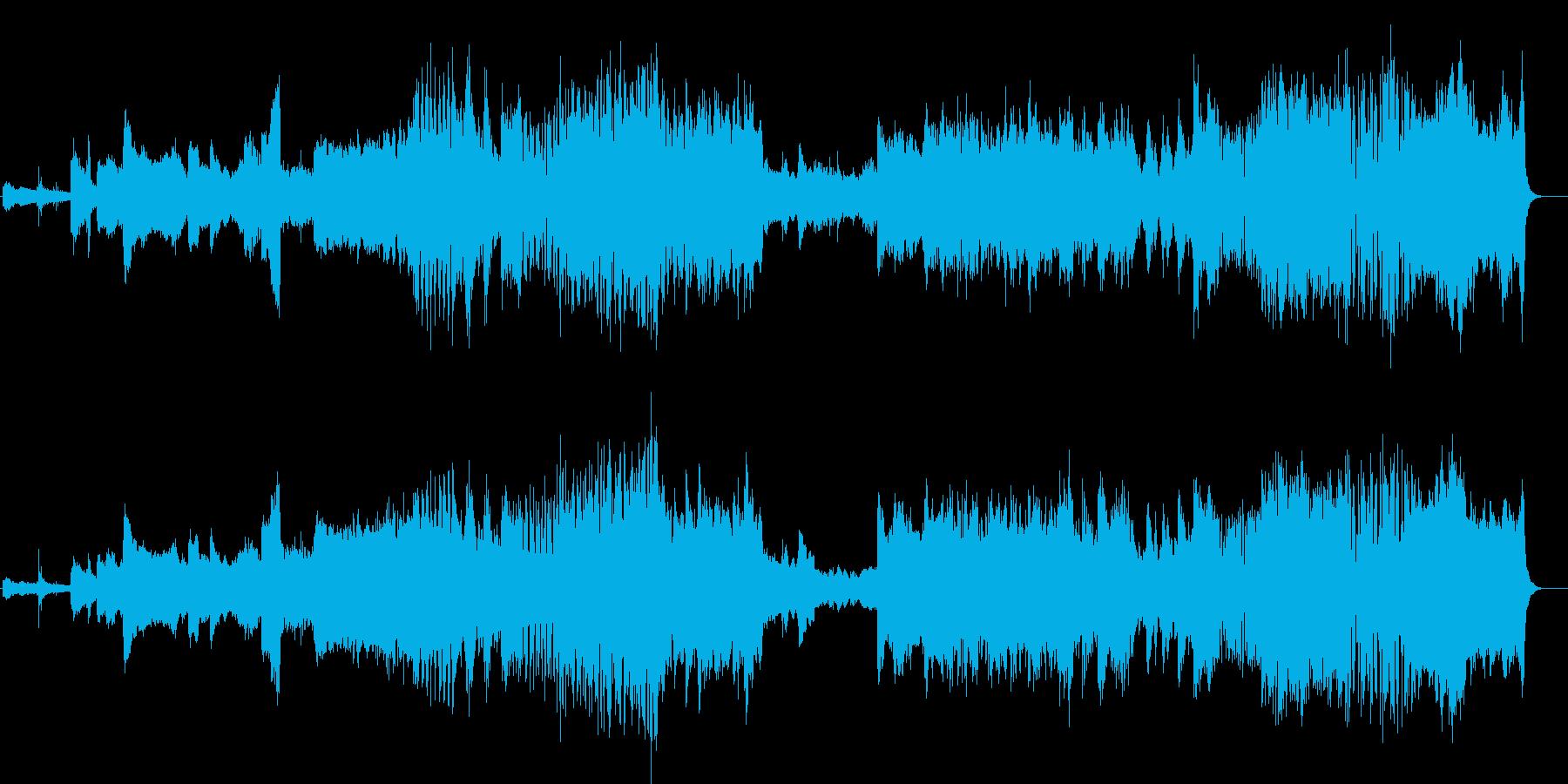 不敵なオーケストラ・アレンジの再生済みの波形