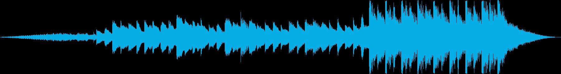 15秒CM爽やかな雰囲気鉄琴ピアノの再生済みの波形