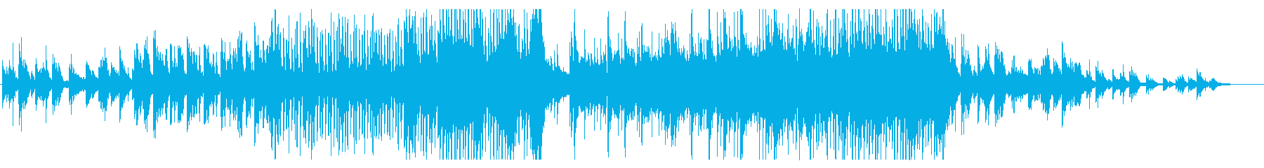 ゆったりピアノから迫力溢れるストリングスの再生済みの波形
