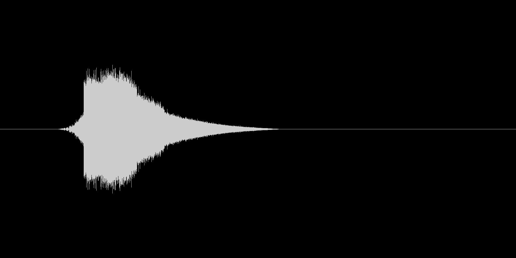ファミコン風効果音カーソル系です 02の未再生の波形