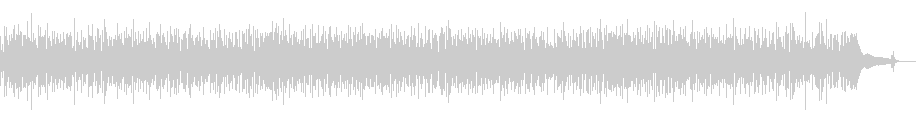 カフェBGM・哀愁のジプシージャズギターの未再生の波形