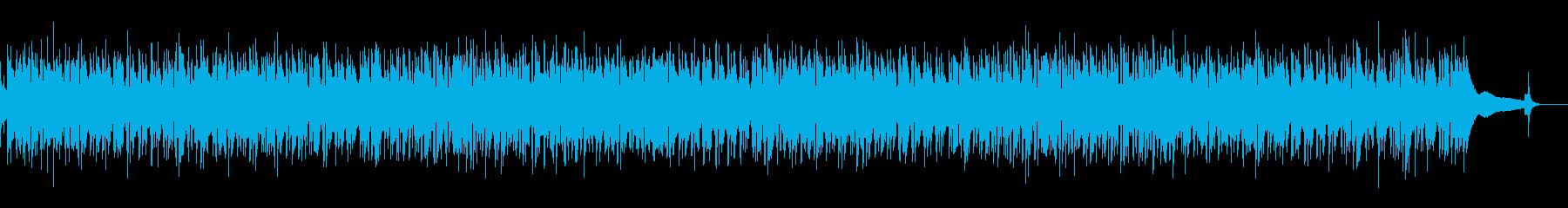 カフェBGM・哀愁のジプシージャズギターの再生済みの波形