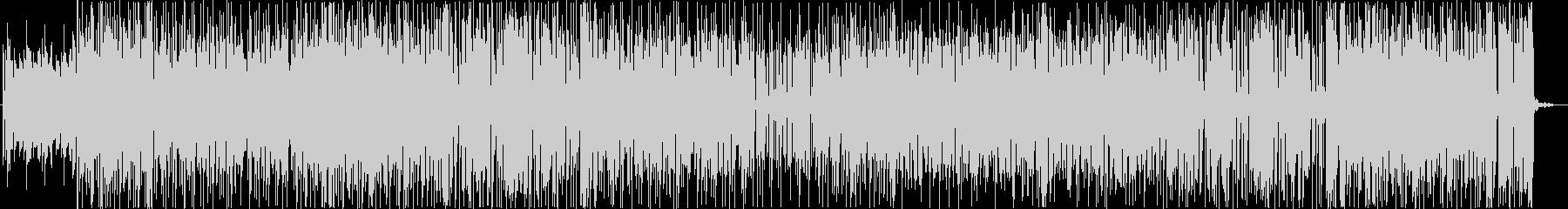 軽快なファンクサウンドの未再生の波形